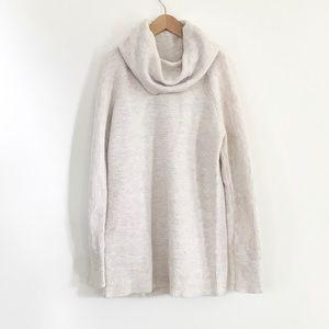 NWT Loft Petite Cowl Neck Tunic Sweater, XSP